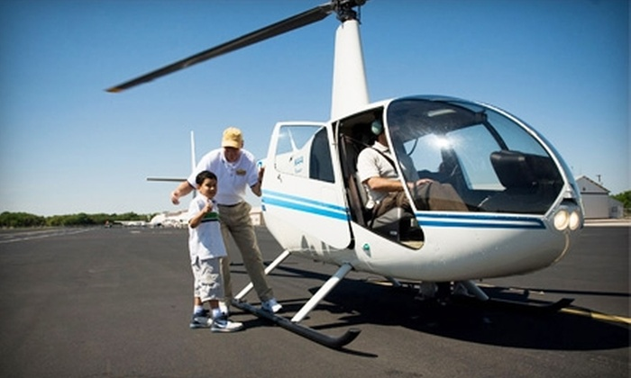 Alamo Helicopter Tours - Harlandale: $60 for Alamo & More Helicopter Tour from Alamo Helicopter Tours ($108 Value)