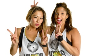 Sweatvibes: 5 or 10 High-Energy Dance Fitness Classes for One or Two at Sweatvibes (Up to 58% Off)