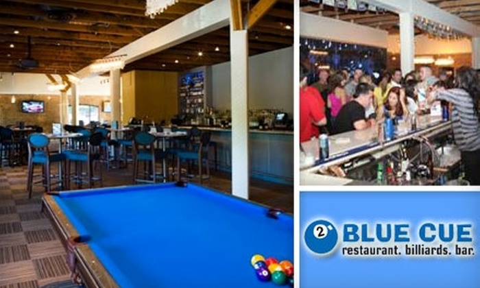 Blue Cue - Midtown: $9 for $20 Worth of Classic Pub Fare and Drinks at Blue Cue