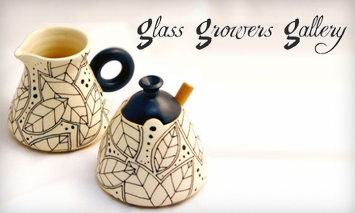 Glass Growers Gallery - Erie: $10 for $20 Worth of Art, Jewelry, Sculptures, and Appraisals at Glass Growers Gallery