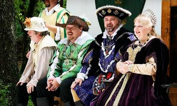 Mayfaire Renaissance Festival - Marshall: Mayfaire Renaissance Festival Outing for Two or Four in Marshall (Up to 55% Off)