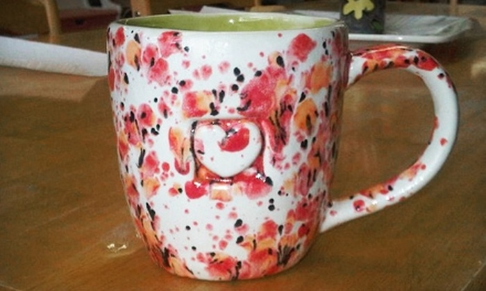 Pick & Paint Pottery Shop - Westbrook: $10 for $20 Worth of Paint-Your-Own Pottery at Pick & Paint Pottery Shop