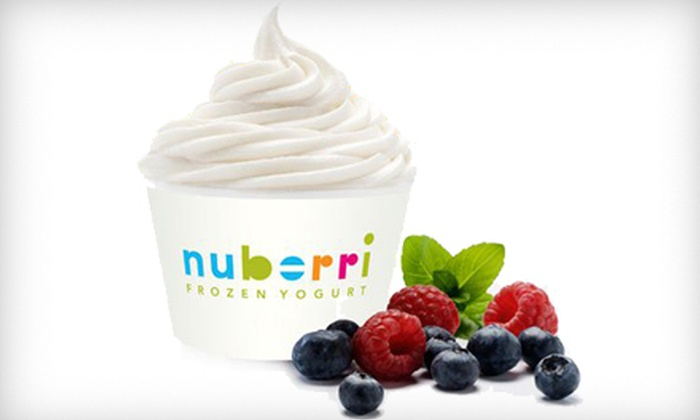Nuberri - Tallahassee: $5 for $10 Worth of Self-Serve Frozen Yogurt at Nuberri