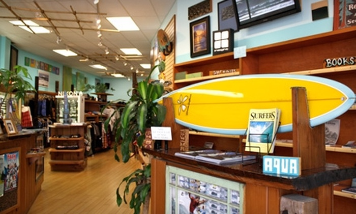 Aqua Surf Shop - San Francisco: $25 for $50 Worth of Apparel, Footwear, and Sunglasses at Aqua Surf Shop