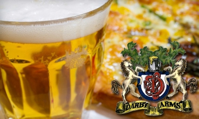 The Darby Arms - Midnapore: $15 for $36 Worth of Pub Fare and Drinks at The Darby Arms