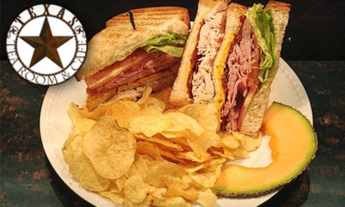 Texas Tea Room & Cafe - South Friendswood Plaza: $6 for $12 Worth of Light Lunch Fare and Tea at Texas Tea Room & Cafe in Friendswood
