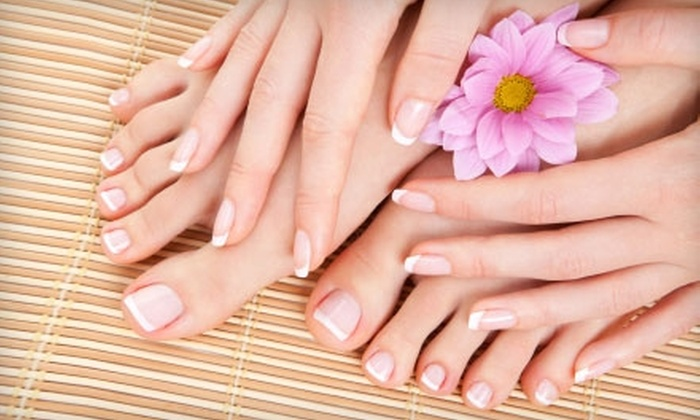Versalles Salon & Spa - Montwood: Nail Services at Versalles Salon & Spa. Choose from Three Options.