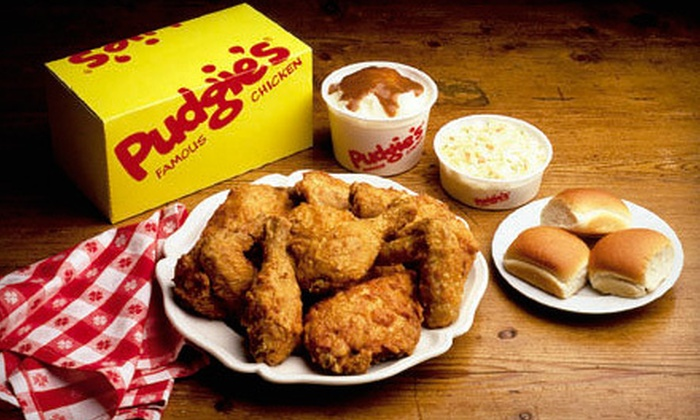 Pudgie's Famous Chicken - Bay Ridge & Fort Hamilton: Pudgie's Original Skinless Fried Chicken 20-Piece Meal or $7 for $15 Worth of Food and Drink at Pudgie's Famous Chicken in Bay Ridge