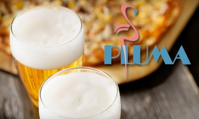 Pluma - Irwin: $15 for $30 Worth of Pasta, Pizzas, Burgers, and More at Pluma in Irwin
