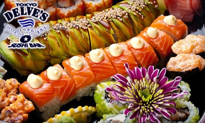 Tokyo Delve's Sushi Bar - Valley Village: $20 for $40 Worth of Japanese Cuisine and Drinks at Tokyo Delve's Sushi Bar in North Hollywood