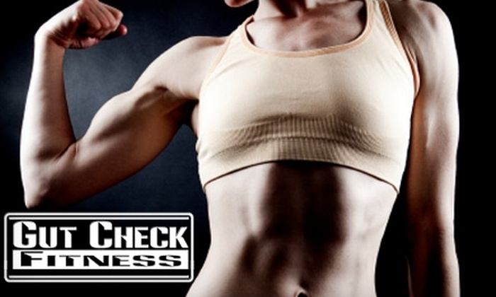 Gut Check Fitness - San Diego: $49 for 10 Boot-Camp Classes at Gut Check Fitness ($120 Value)
