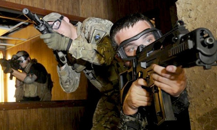 Citadel Airsoft - Oak Hill: Airsoft Package for One or Two with Admission, Membership, and Equipment Rental at Citadel Airsoft (Up to 65% Off)