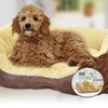 Pet Cuddle Beds in Brown or Beige