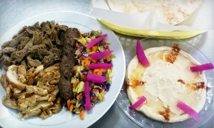 Baladna Mediterranean Kitchen - Augustana: $8.99 for Two Kebabs or Platters for Two at Baladna Mediterranean Kitchen ($17.98 Value)