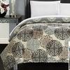 Junelle Reversible Ornamental Print Quilt