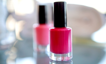 Shellac Manicure with Optional Hot Stone Pedicure, or Three Shellac Manicures at Beauty by Ashley (Up to 57% Off)