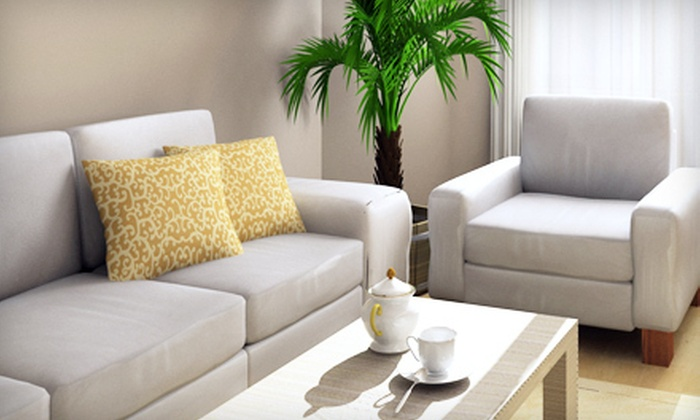 Mundae Cleaning Services - Houston: Cleaning for Upholstery or Leather for a Couch or a Couch and a Love Seat from Mundae Cleaning Services (Up to 62% Off)