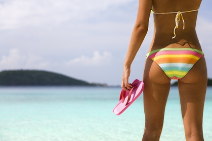 One Brazilian Wax at Pretty Peach Waxing (Up to 56% Off)