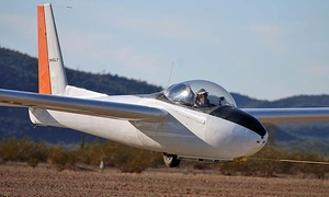 Certified Glider Rides: $157 for a 2,000-Foot Glider Flight for Two from Certified Glider Rides ($299 Value)