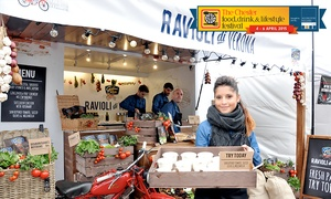 Chester Food and Drink Festival: Chester Food, Drink and Lifestyle Festival: Three-Day Roamer Entry for One, Two or Four (Up to 46% Off)