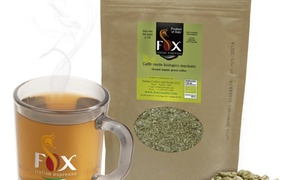 Fox Italian Espresso: $12 for $25 Worth of Organic Green Ground Coffee Great for Weight Loss Supplement at Fox Coffee