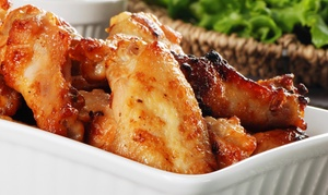 Wing Ranch, Gwinnett: $15 for $20 Worth of Food for Dine-In or Carry-Out at Wing Ranch, Gwinnett