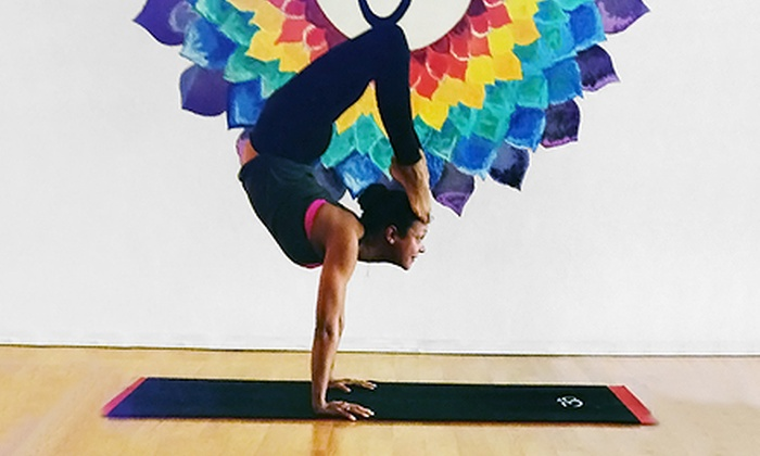 Dharma Yoga - Mid-Wilshire: 10 or 20 Yoga Classes at Dharma Yoga L.A. (Up to 66% Off)