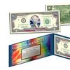 Stars and Stripes Flag Hologram US $2 Bill