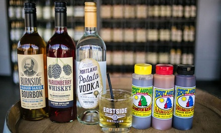 Tastings, Cocktails, and Secret Aardvark Sauce for Two, Four, or Six at Eastside Distilling (Up to 52% Off)