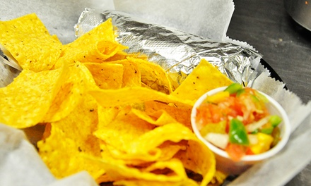 $15 for Three Groupons, Each Good for $10 Worth of Tex-Mex Food at Burrito Fresco ($30 Total Value)