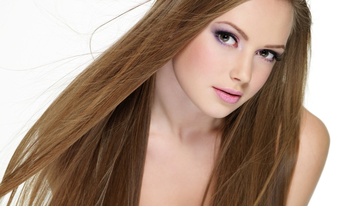 MB Salon - Puyallup: Haircut, Cut with Partial Foils, or Cut with Single Process Color at MB Salon (Up to 63% Off)