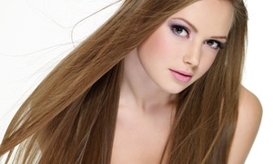 MB Salon: Haircut, Cut with Partial Foils, or Cut with Single Process Color at MB Salon (Up to 63% Off)