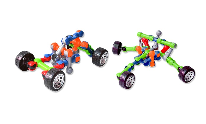 discovery kids snap build car kits 37 piece set discovery kids