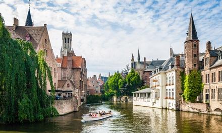 ✈Brujas y Bruselas: 3 noches para 1 con desayuno, tren, tours y vuelo de I/V desde varias ciudades en hotel de 3 o 4*
