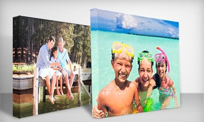 "Custom Gallery-Wrapped Photo Canvas: $39 for Custom Gallery-Wrapped 16""x20"" Photo Canvas ($130 List Price). Free Shipping."