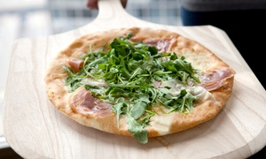 Delia's Pizzeria and Grill: Lunch or Dinner at Delia's Pizzeria and Grill (Up to 53% Off). Three Options Available.