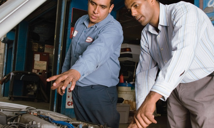 Columbia Auto Repair - On the Hill: State Safety Inspection with Emissions Test or Oil Change with Tire Rotation at Columbia Auto Repair (Up to 52% Off)