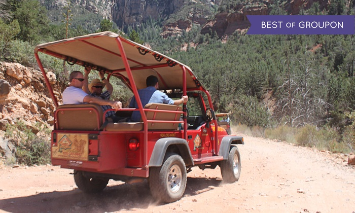 Red Rock Western Jeep Tours - Sedona: Two-Hour Old Bear Wallow Jeep Tour for Two, Four, or Six from Red Rock Western Jeep Tours (Up to 35% Off)
