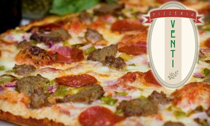 Pizzeria Venti - Vonore: $7 for $15 Worth of Pizza and Italian Eats at Pizzeria Venti