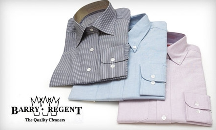 Barry-Regent Cleaners - Lakeview: $10 for $25 Worth of Dry Cleaning, Tailoring, and More from Barry-Regent Cleaners