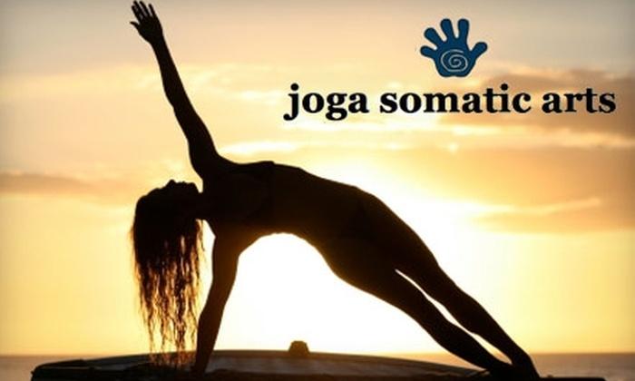 Joga Somatic Arts - Kettering: $10 for Four Yoga Classes at Joga Somatic Arts ($20 Value)