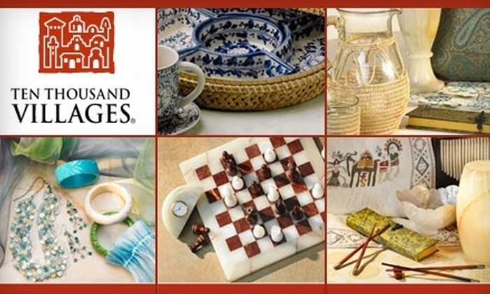 Ten Thousand Villages - Los Angeles: $10 for $20 Worth of Fair-Trade Goods, Accessories, and Gifts at Ten Thousand Villages