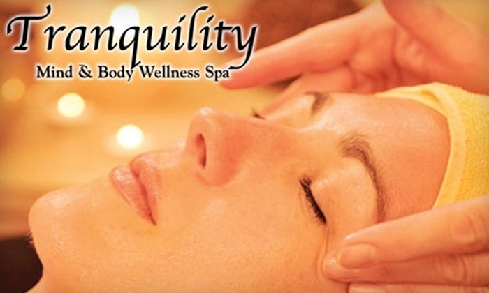 Tranquility Mind and Body Wellness Spa - Downtown / Harbor / Post Road South: $45 for a Swedish Massage or a Rejuvenating Facial at Tranquility Mind and Body Wellness Spa ($90 Value)