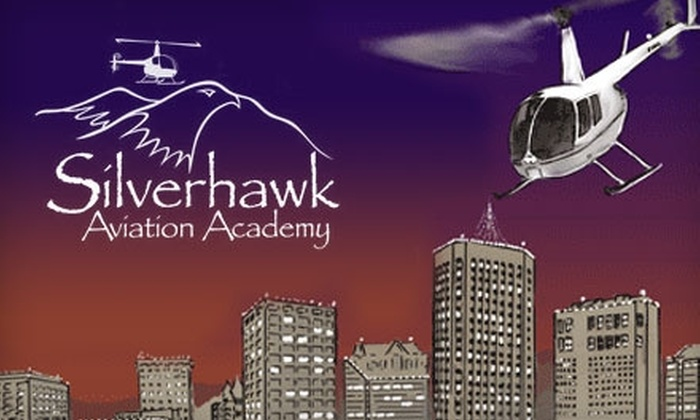 Silverhawk Aviation Academy - Caldwell: $90 for Three-Person Helicopter Christmas Light Tour of Boise from Silverhawk Aviation Academy (Up to $150 Value)