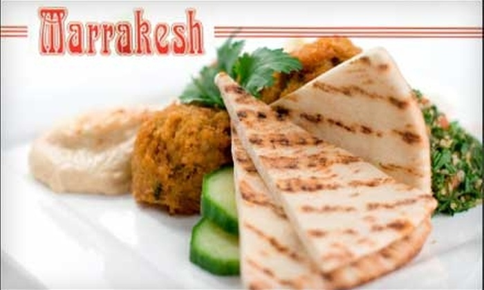 Marrakesh - West Loop: $10 for $25 Worth of Moroccan and Mediterranean Fusion at Marrakesh