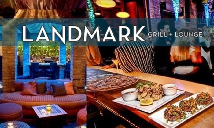 Landmark Grill & Lounge - Lincoln Park: $30 for $60 Worth of Upscale American Fare and Drinks at Landmark Grill & Lounge