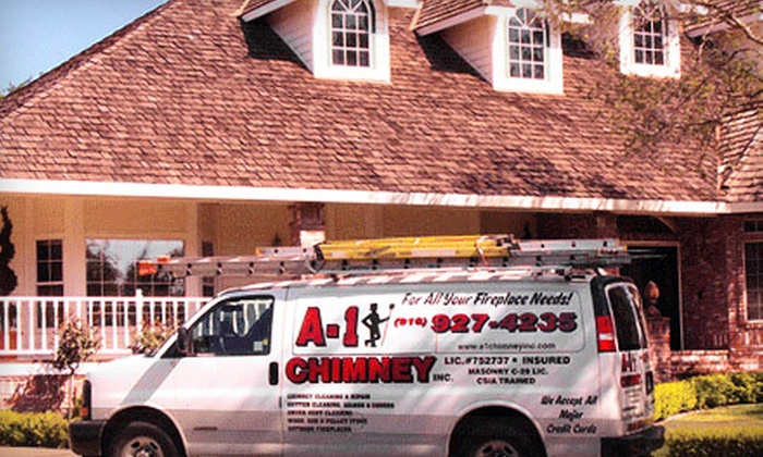 A-1 Chimney & Services - Rocklin: Chimney-Sweeping Package with or without Dryer-Vent Cleaning from A-1 Chimney & Services (Up to 67% Off)