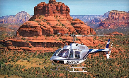 with Sedona's most experienced air tour company.