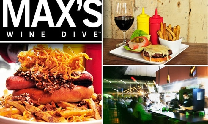 Max's Wine Dive - Houston: $20 for $40 Worth of Gourmet Comfort Food at Max's