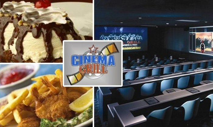 Cinema Grill - Aurora Hills: $10 for $20 Toward Admission, Meals, and Beverages at Cinema Grill
